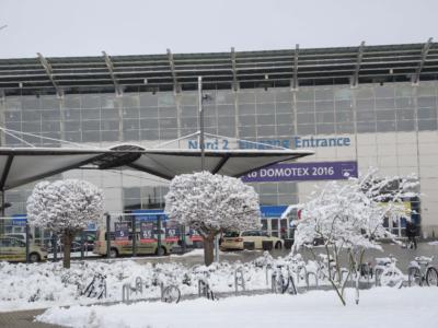 Domotex-messen fant sted i et vinterlig Hannover i år