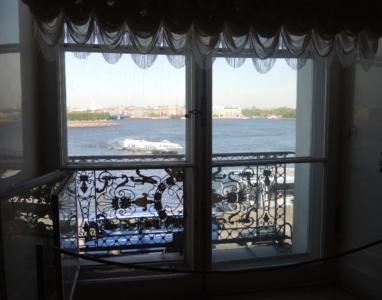 Utsikt mot Neva-elven