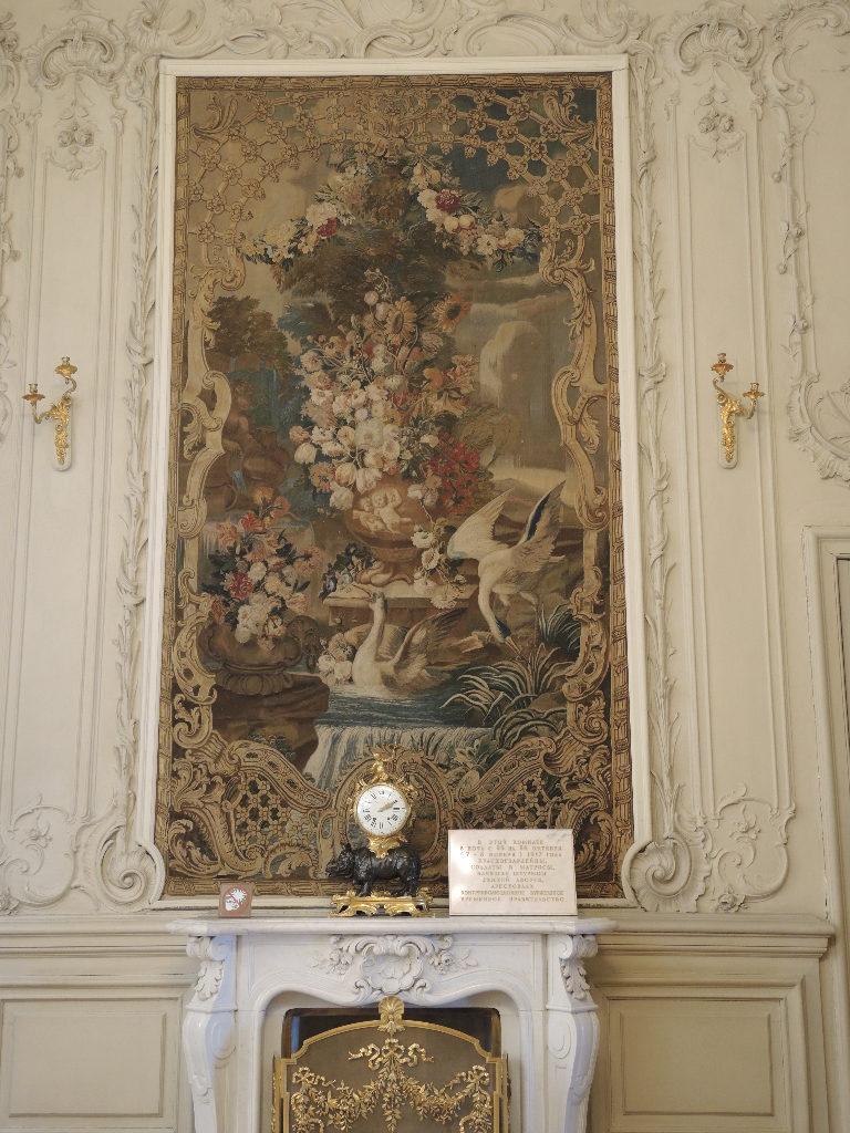Peter den store hentet italienere og franskmenn for å etablere en russisk gobelin-fremstilling
