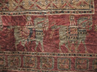 Detalj fra Pazyryk-teppet
