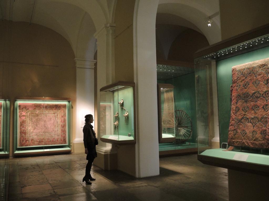 Pazyryk-funnet har fått en omfattende plass i samlingene
