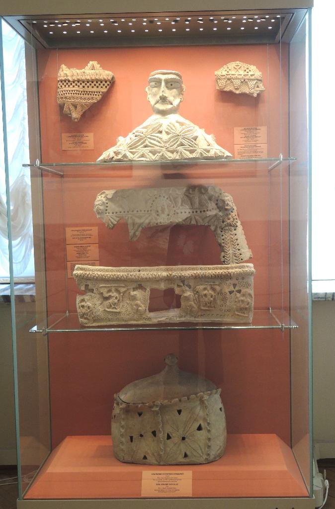 Gravpryd fra Samarkand, 6-700-tallet
