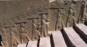 Trapperelieffer, Persepolis