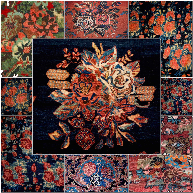 Gol farang i persiske tepper
